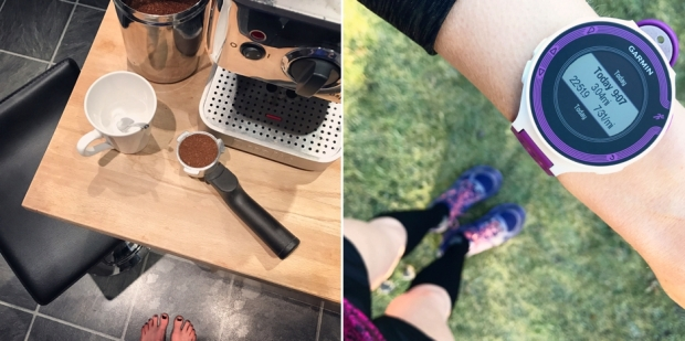 parkrun most definitely fuelled by coffee after not sleeping...